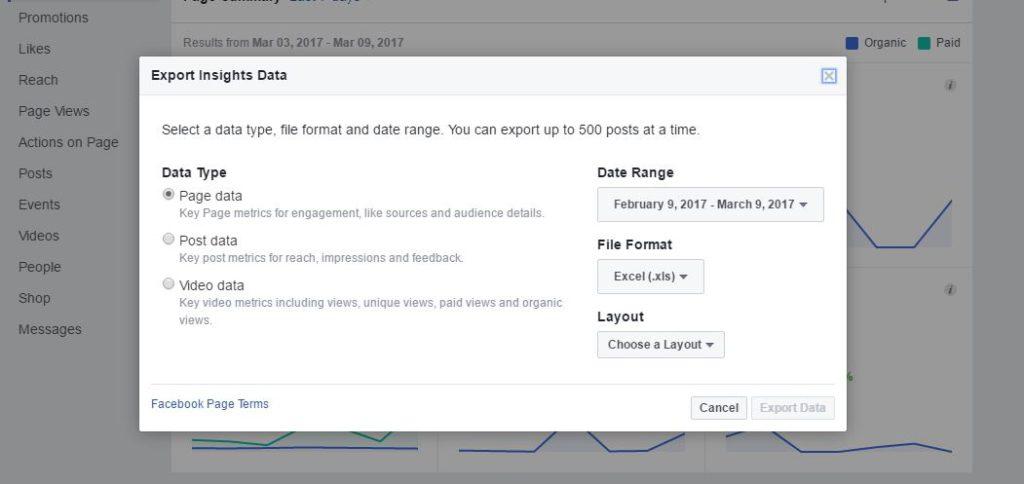 Exporting Data - Boosting